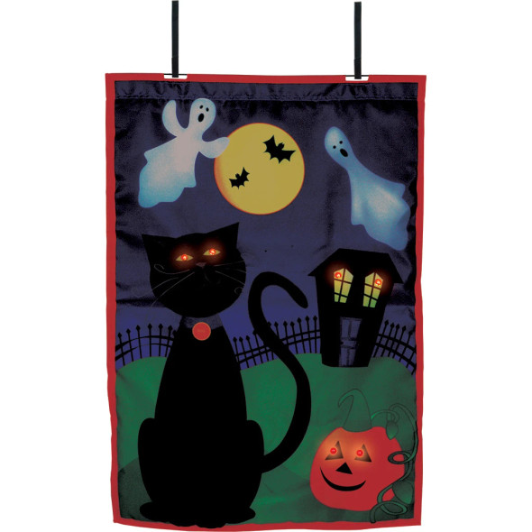 Premier kites - 28 in. Halloween House Flag - Boo (Voice Controlled)