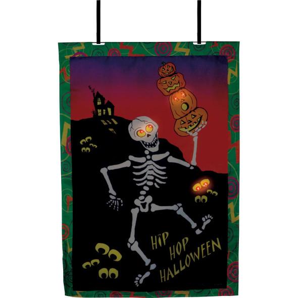 Premier kites - 28 in. Halloween House Flag - Hip Hop Halloween (Voice Controlled)