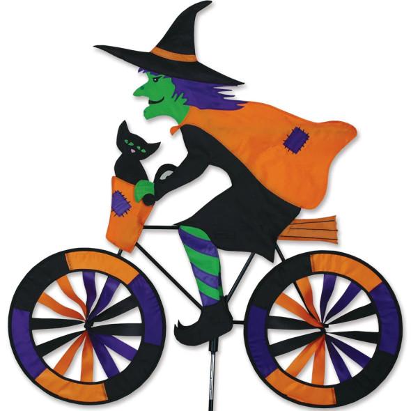 Premier kites - 30 in. Bike Spinner - Halloween Witch