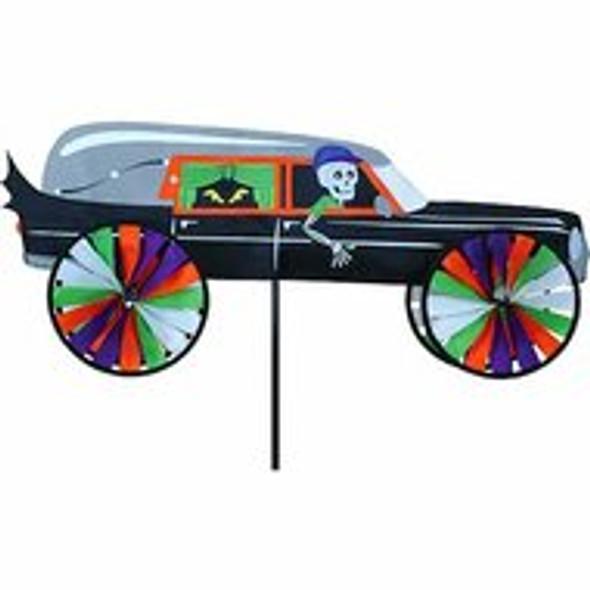 """Premier Kites - Haunted Hearse Garden Spinner """"Halloween"""""""