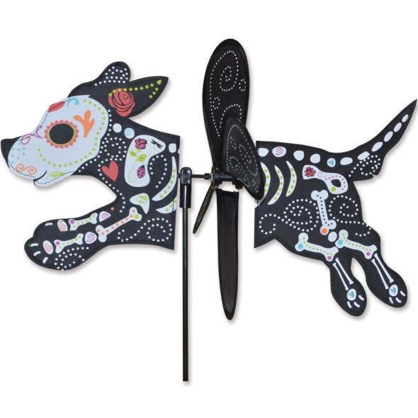 """Premier Kites - Petite Spinner - Day of the Dead Dog """"halloween"""""""