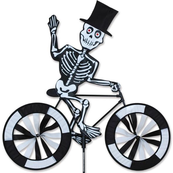 """Premier Kites - 30 in. Bike Spinner - Skeleton """"halloween"""""""