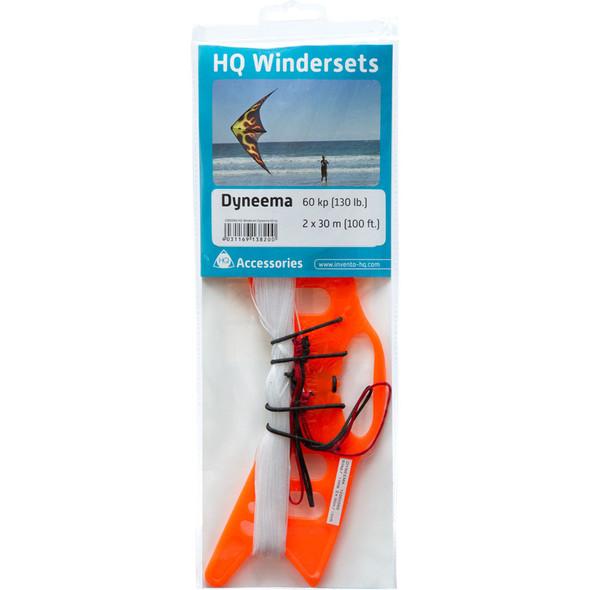 HQ Kites - HQ WINDERSET DYNEEMA 70kp (154lb) 2x30m 98'