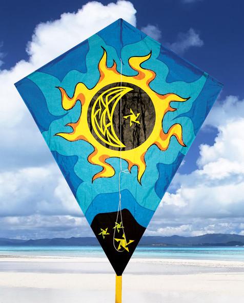 """Skydog Kites-40"""" Sun & Moon Diamond"""
