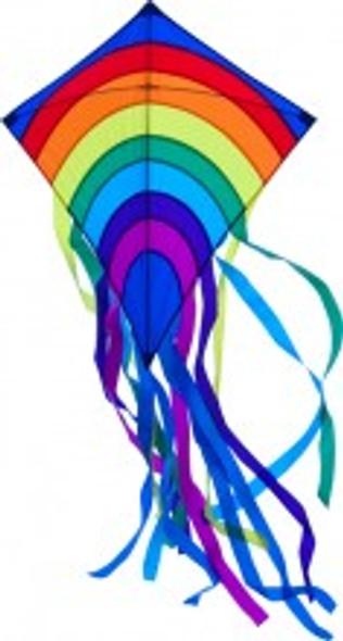 New Tech kites - Over the Rainbow Diamond kite