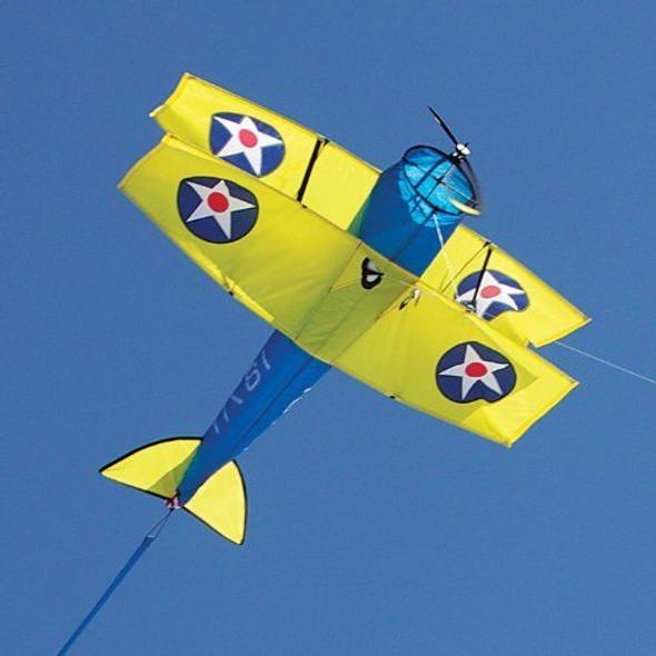 Premier Kites -   Stearman Biplane Airplane Kite