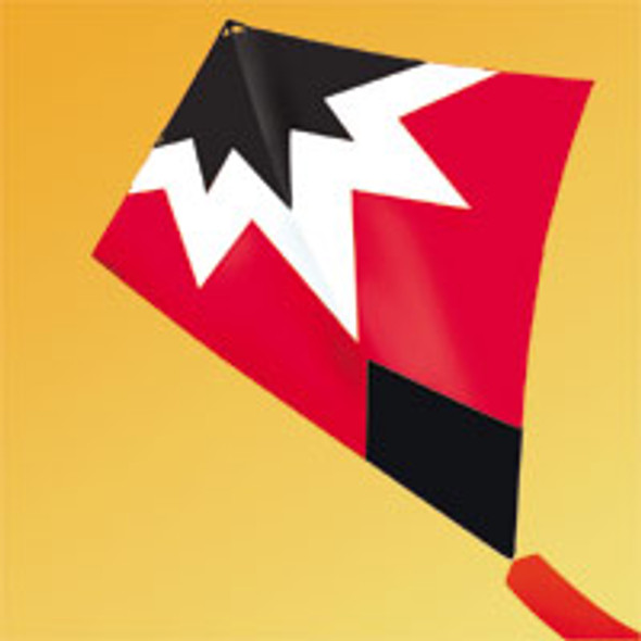 "Gomberg Kites - Starburst Stunt kite ""Red"""