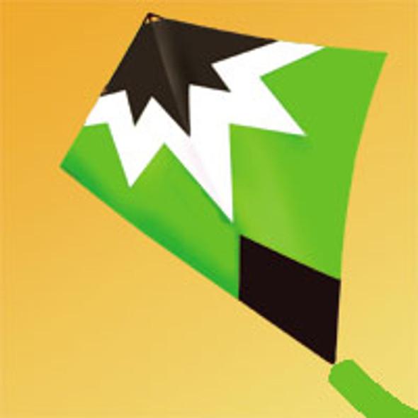 "Gomberg Kites - Starburst Stunt kite ""Green"""