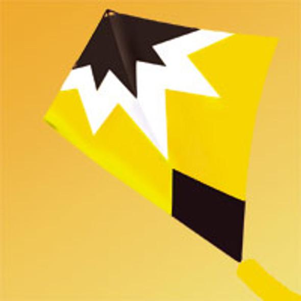"""Gomberg Kites - Starburst Stunt kite """"yellow"""""""