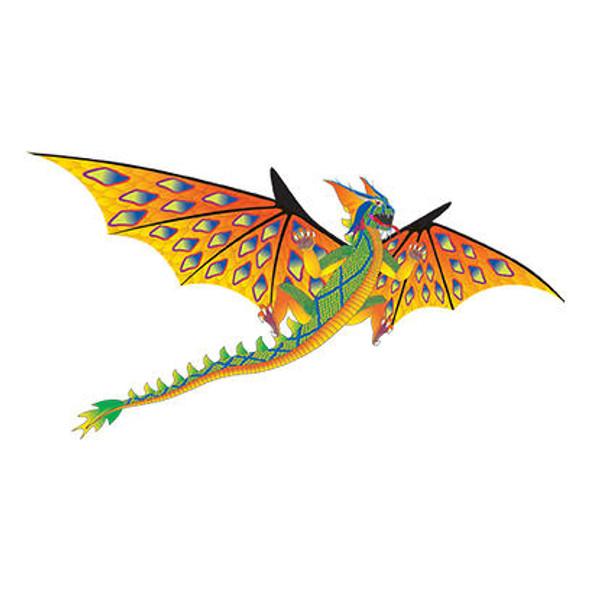 "WindnSun kites - SuperSize ""Green Dragon 3D"""