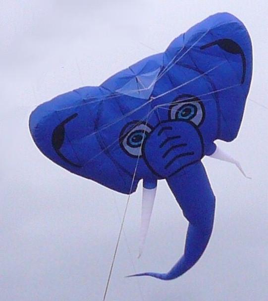 Gomberg kites - Elephant foil