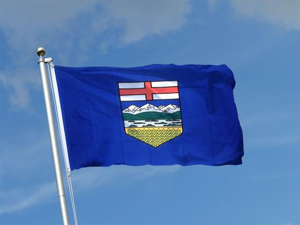 "Alberta Flag 18"" x 36"" Tackle II ""grommets"""