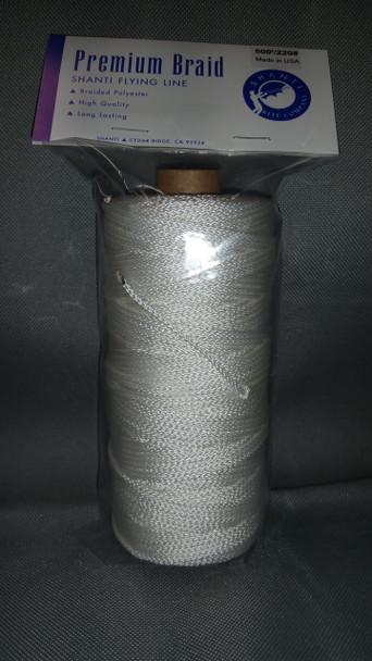 Shanti Kite Co. - Shanti 320# x 500' Braided dacron line Tube