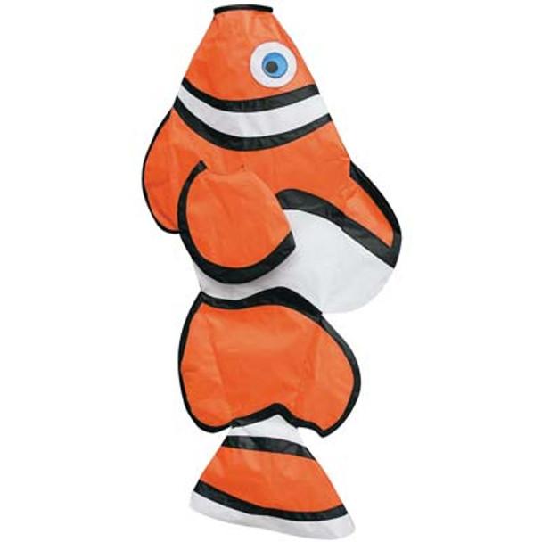 "Skydog Kites - 36"" Clown Fish Windsock"