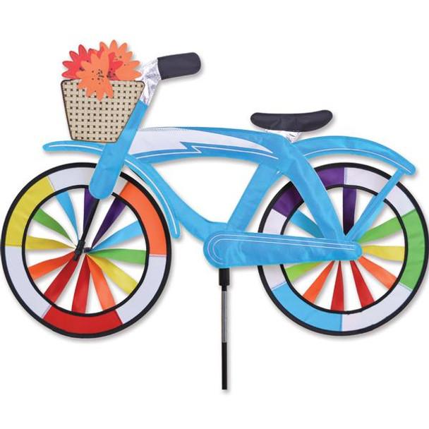 Premier Kites - 30 in. Bike Spinner - Blue Classic Cruiser