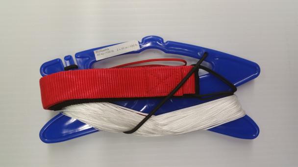 Gomberg kites - 100# x 100' Dyneema line set w/s