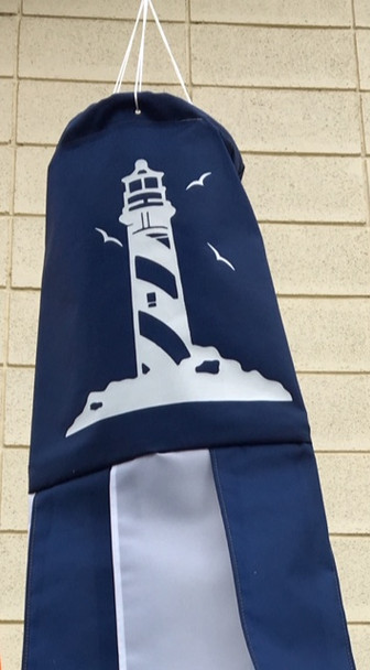 Windsock Factory - Light house navy blue