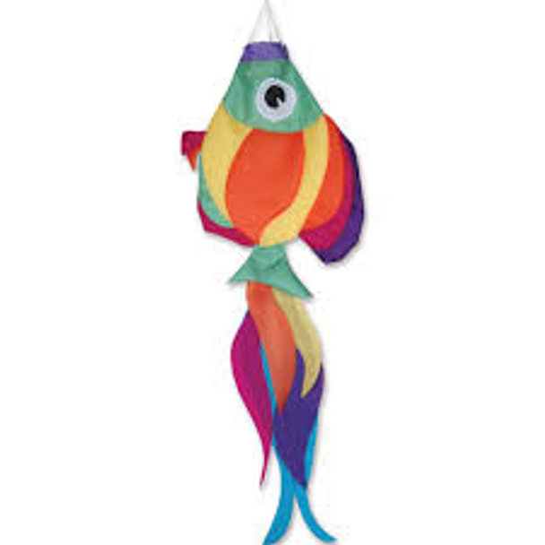 Premier kites - 36 in. Rainbow Fish Windsock