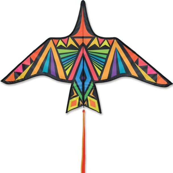 Premier Kites - Thunderbird Kite - 60 in. Rainbow Geometric