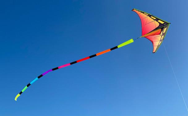 Prism Designs - 20' Tube Tail - Rainbow