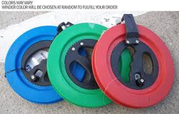 "WNS - ReelFast Kite Winder ""Green"" / 80# x 500' Nylon"