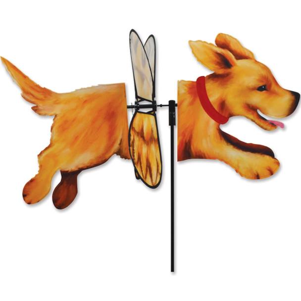 Premier Kites - Deluxe Petite Spinner - Golden Retriever