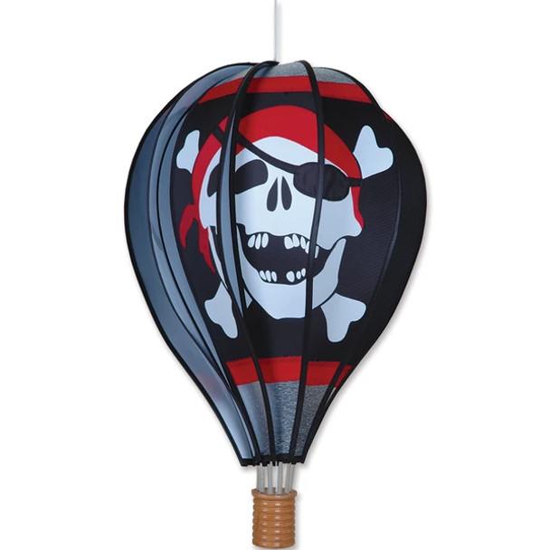 "Premier Kites - 22 in. Hot Air Balloon - Jolly Roger ""Halloween"""