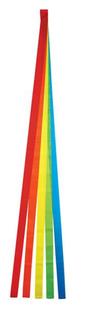 Skydog Kites - 6' Rainbow 5 streamer Tail