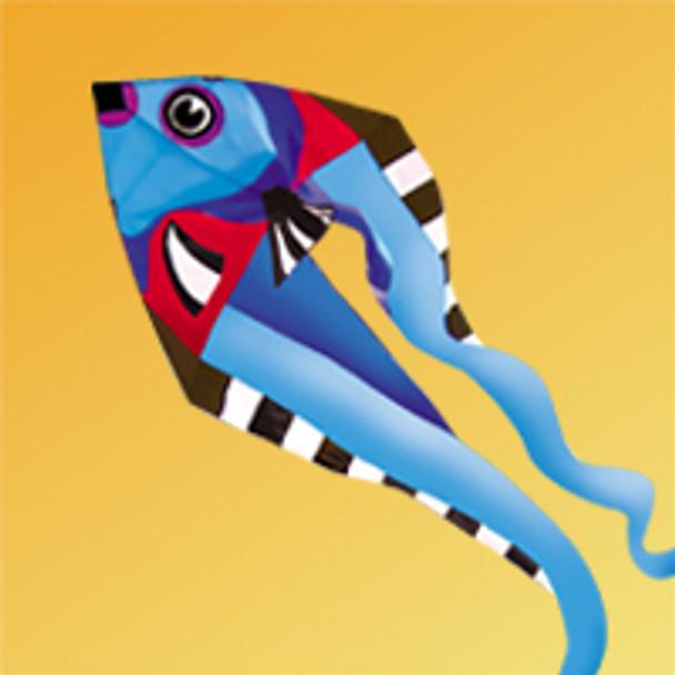 "Gomberg Kites - Fish Pyro Delta - 9 Foot ""Cool"""