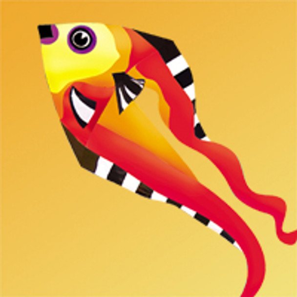"""Gomberg Kites - Fish Pyro Delta - 9 Foot """"Warm"""""""