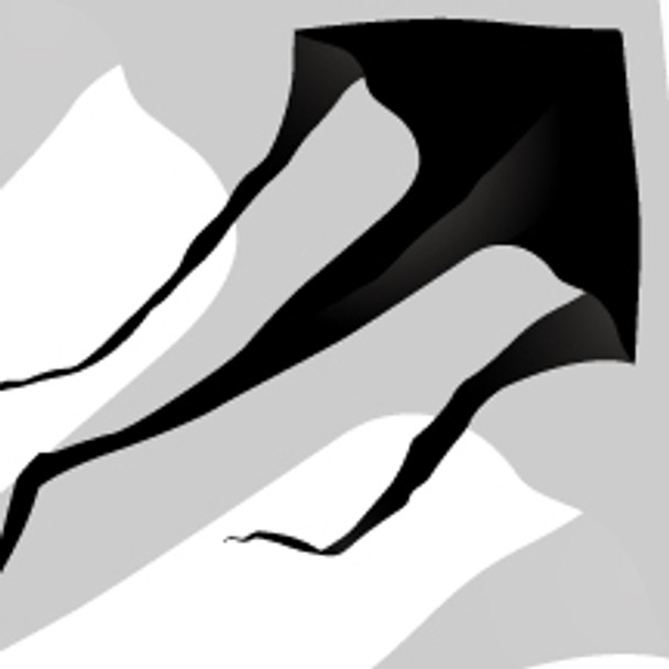 "New Tech kites - Cascade Delta 6' ""Black"""
