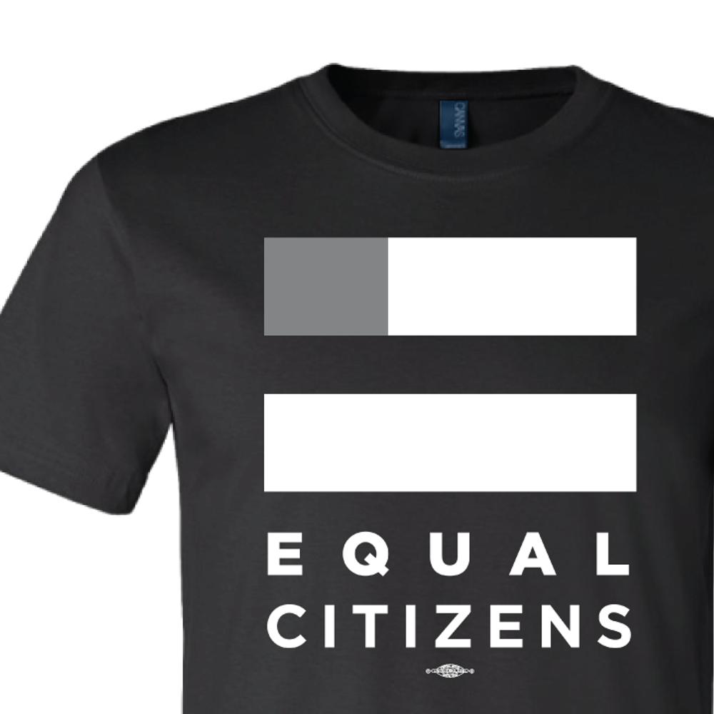 Equal Citizens Logo ( Unisex Black Tee)