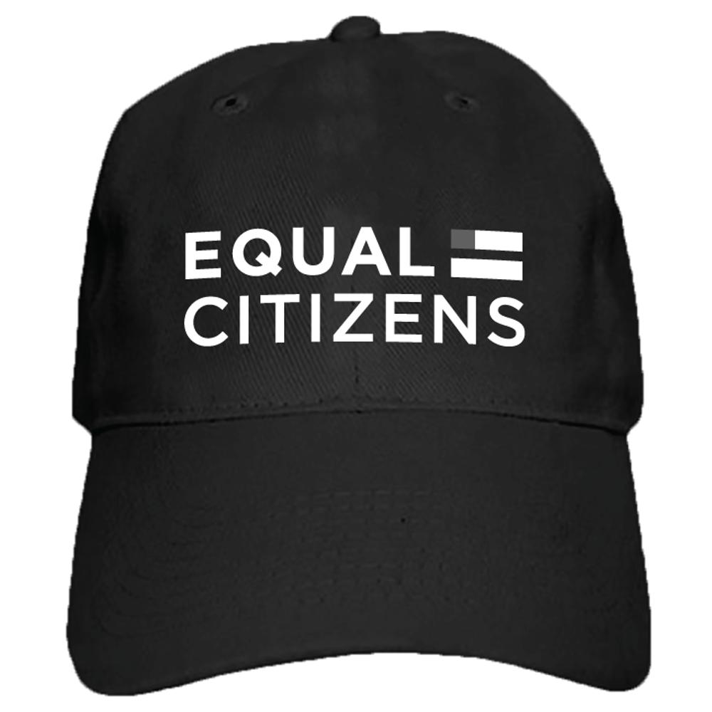 Equal Citizens Logo (Black Baseball Cap)