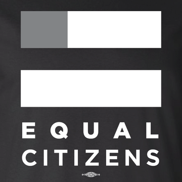 Equal Citizens Logo (Unisex Black Tank)