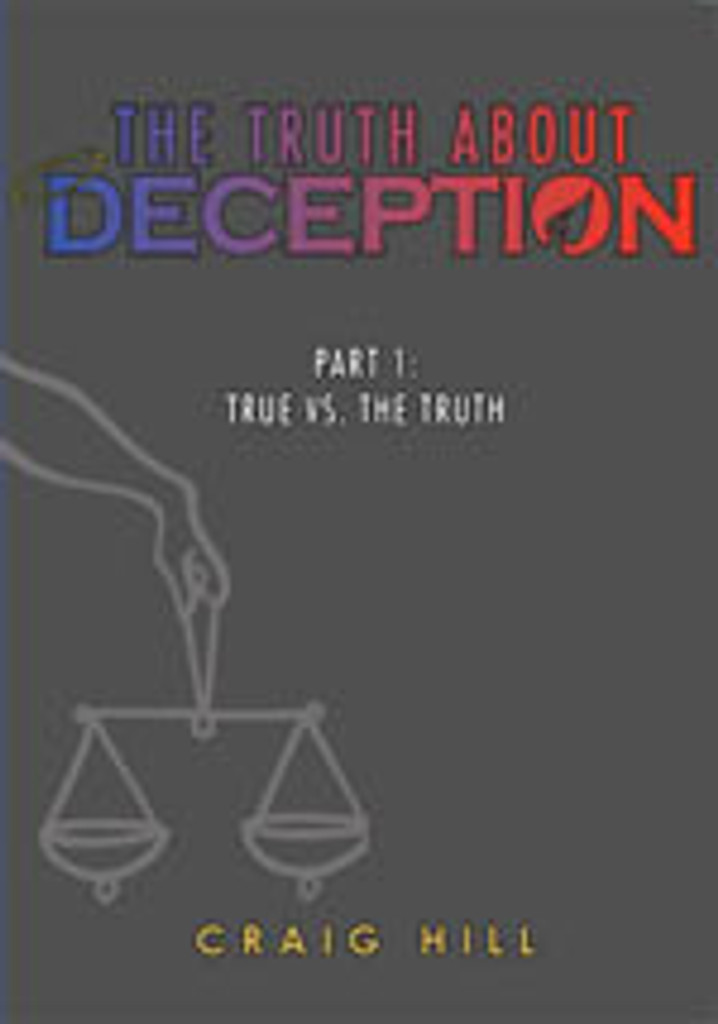 The Truth About Deception Pt 1: True vs The Truth - CDs