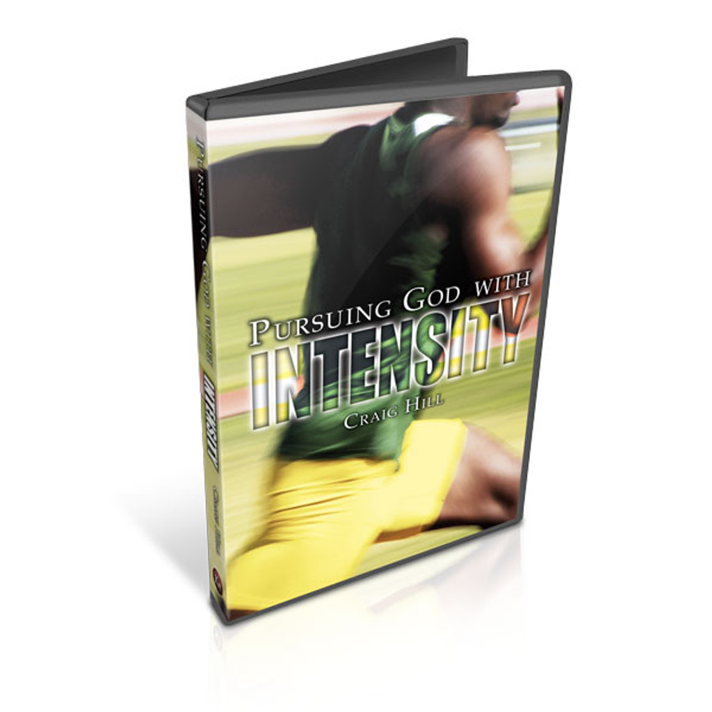 Pursuing God with Intensity - CD