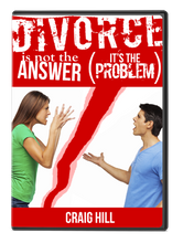 Divorce Is Not The Answer, It's the Problem - CD