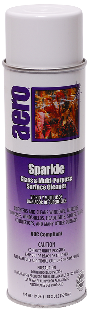 Sparkle multipurpose glass and transparency cleaner