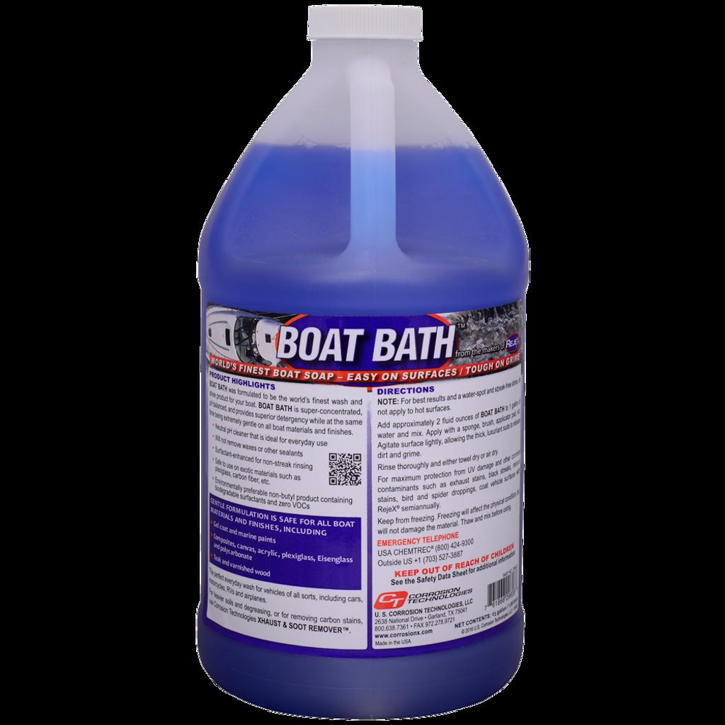 Boat Bath pH neutral boat wash and shine soap
