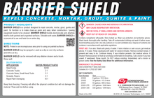 Barrier Shield concrete repellant coating concentrate