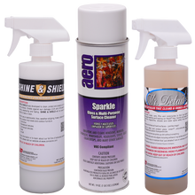 Clean your paint and glass and make those tires shine with this exterior cleaning kit.