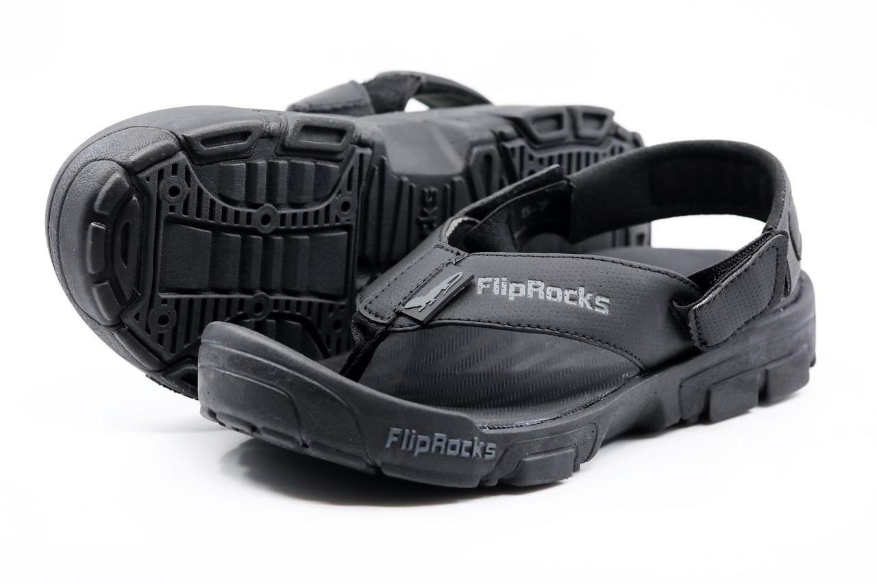 ee9e86e8345705 BLACK FLIPFLOPS W HIKING PADS - Black Hiking Sandals - Grip Sandals