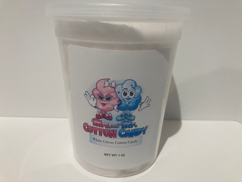 White Circus Cotton Candy
