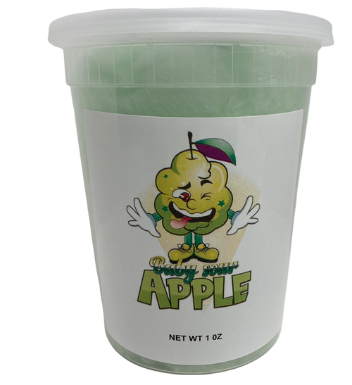 Baby Sour Apple Cotton Candy