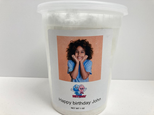 Upload your image Happy Birthday Cotton Candy