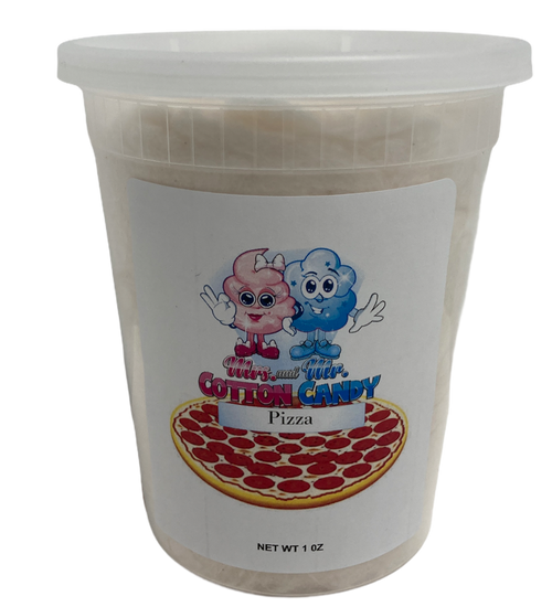 Pizza Cotton Candy