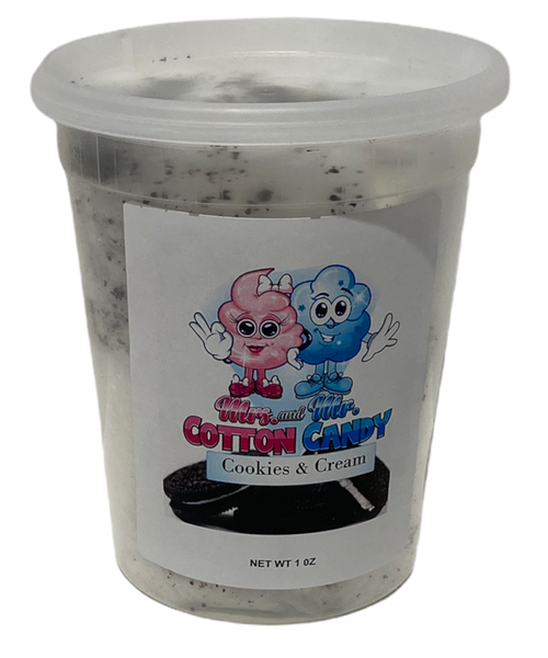 Cookies & Cream Cotton Candy