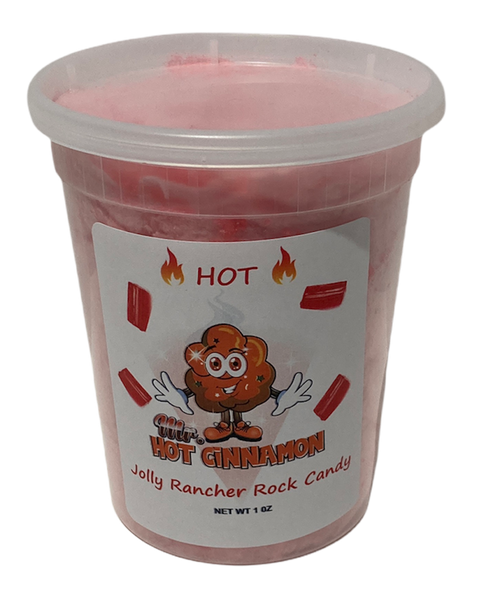 Hot Cinnamon Rock Candy Cotton Candy