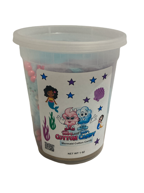 Mermaid  Cotton Candy