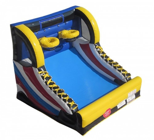 Item Number #40 )Hoop Shot Inflatable Basketball Game 9' L X 10' W X 8' H